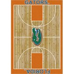 "Milliken College Home Court (NCAA) Florida 01500 Court Rectangle (4000018357) 3'10"" x 5'4"" Area Rug"