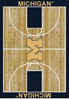 Milliken College Home Court (NCAA) Michigan 01160 Court Rectangle (4000018308) 3'10