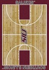 Milliken College Home Court (NCAA) Southern Illinois 01380 Court Rectangle (4000018417) 5'4