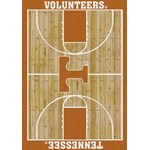 "Milliken College Home Court (NCAA) Tennessee 01400 Court Rectangle (4000018339) 3'10"" x 5'4"" Area Rug"