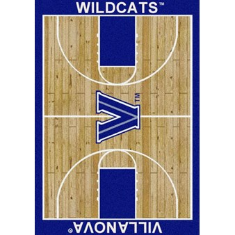 "Milliken College Home Court (NCAA) Villanova 01448 Court Rectangle (4000018345) 3'10"" x 5'4"" Area Rug"