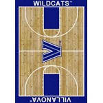 "Milliken College Home Court (NCAA) Villanova 01448 Court Rectangle (4000018515) 7'8"" x 10'9"" Area Rug"