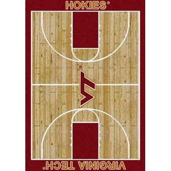 "Milliken College Home Court (NCAA) Virginia Tech 01460 Court Rectangle (4000018350) 3'10"" x 5'4"" Area Rug"
