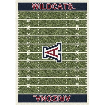 "Milliken College Home Field (NCAA) Arizona 01012 Home Field Rectangle (4000018535) 5'4"" x 7'8"" Area Rug"