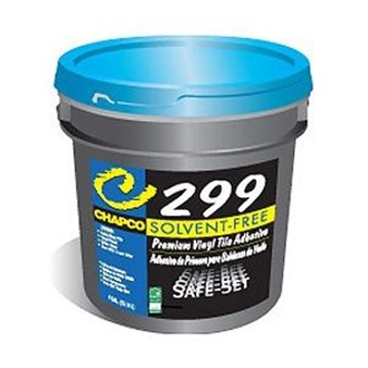 Chapco Safe Set 299 Premium Vinyl Tile Adhesive 1 Gallon