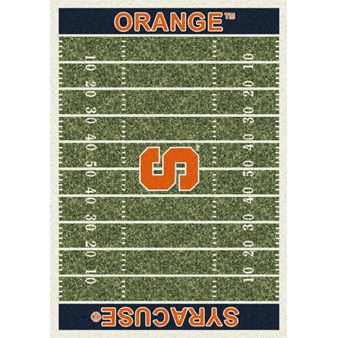 "Milliken College Home Field (NCAA) Syracuse 01396 Home Field Rectangle (4000018585) 5'4"" x 7'8"" Area Rug"