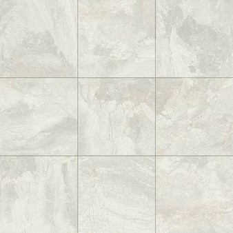 "Daltile Marble Falls: White Water 12"" x 12"" Glazed Porcelain Tile MA40-12121P2"