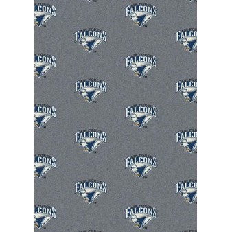 "Milliken College Repeating (NCAA) Air Force 01008 Repeat Rectangle (4000018821) 5'4"" x 7'8"" Area Rug"