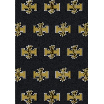 "Milliken College Repeating (NCAA) Idaho 01108 Repeat Rectangle (4000101855) 5'4"" x 7'8"" Area Rug"