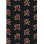 "Milliken College Repeating (NCAA) Maryland 01156 Repeat Rectangle (4000018993) 10'9"" x 13'2"" Area Rug"