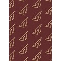 Milliken College Repeating (NCAA) Virginia Tech 01460 Repeat Rectangle (4000019025) 10