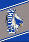 Milliken College Team Spirit (NCAA) Air Force 68870 Spirit Rectangle (4000019418) 2'8