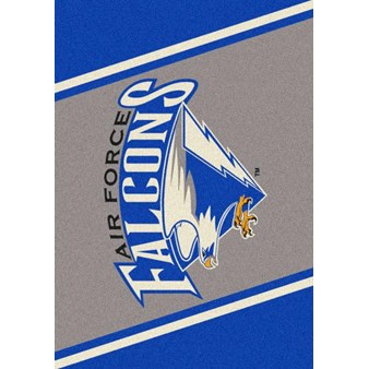 "Milliken College Team Spirit (NCAA) Air Force 68870 Spirit Rectangle (4000019064) 3'10"" x 5'4"" Area Rug"