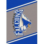 "Milliken College Team Spirit (NCAA) Air Force 68870 Spirit Rectangle (4000019185) 5'4"" x 7'8"" Area Rug"