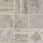 "Daltile Exquisite: Silverstone 12"" x 18"" Glazed Wall Porcelain Tile EQ12-12181P2"