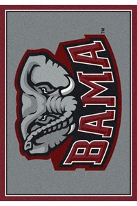 Milliken College Team Spirit (NCAA) Alabama 74166 Spirit Rectangle (4000019428) 2'8