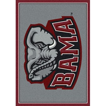 "Milliken College Team Spirit (NCAA) Alabama 74166 Spirit Rectangle (4000019315) 7'8"" x 10'9"" Area Rug"