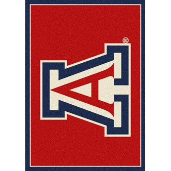 "Milliken College Team Spirit (NCAA) Arizona 74758 Spirit Rectangle (4000019256) 5'4"" x 7'8"" Area Rug"
