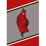 "Milliken College Team Spirit (NCAA) Arkansas 68884 Spirit Rectangle (4000019069) 3'10"" x 5'4"" Area Rug"