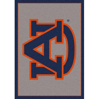 "Milliken College Team Spirit (NCAA) Auburn 74752 Spirit Rectangle (4000019488) 2'8"" x 3'10"" Area Rug"