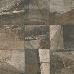 "Daltile Porada: Rich Brown 20"" x 20"" Glazed Porcelain Tile PR32-20201P6"
