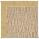 Capel Rugs Creative Concepts Cane Wicker - Dupione Bamboo (100) Octagon 4' x 4' Area Rug