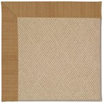 Capel Rugs Creative Concepts Cane Wicker - Dupione Caramel (150) Octagon 4' x 4' Area Rug