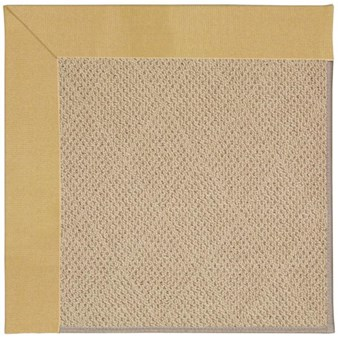 Capel Rugs Creative Concepts Cane Wicker - Canvas Wheat (167) Octagon 4' x 4' Area Rug