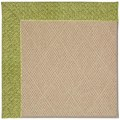 Capel Rugs Creative Concepts Cane Wicker - Tampico Palm (226) Octagon 4