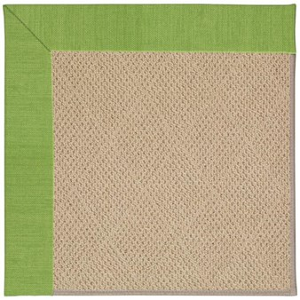 Capel Rugs Creative Concepts Cane Wicker - Canvas Lawn (227) Octagon 4' x 4' Area Rug