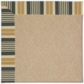 Capel Rugs Creative Concepts Cane Wicker - Long Hill Ebony (340) Octagon 4