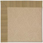 Capel Rugs Creative Concepts Cane Wicker - Vierra Onyx (345) Octagon 4' x 4' Area Rug