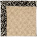 Capel Rugs Creative Concepts Cane Wicker - Wild Thing Onyx (396) Octagon 4