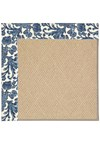Capel Rugs Creative Concepts Cane Wicker - Batik Indigo (415) Octagon 4' x 4' Area Rug