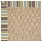 Capel Rugs Creative Concepts Cane Wicker - Brannon Whisper (422) Octagon 4' x 4' Area Rug