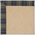 Capel Rugs Creative Concepts Cane Wicker - Vera Cruz Ocean (445) Octagon 4