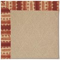 Capel Rugs Creative Concepts Cane Wicker - Java Journey Henna (580) Octagon 4