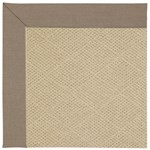 Capel Rugs Creative Concepts Cane Wicker - Shadow Wren (743) Octagon 4' x 4' Area Rug