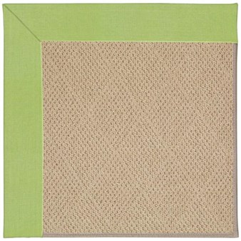 Capel Rugs Creative Concepts Cane Wicker - Canvas Parrot (247) Octagon 8' x 8' Area Rug