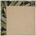 Capel Rugs Creative Concepts Cane Wicker - Bahamian Breeze Coal (325) Octagon 8