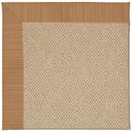 Capel Rugs Creative Concepts Cane Wicker - Vierra Brick (530) Octagon 8' x 8' Area Rug