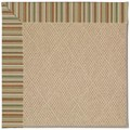 Capel Rugs Creative Concepts Cane Wicker - Dorsett Autumn (714) Octagon 8