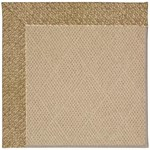 Capel Rugs Creative Concepts Cane Wicker - Tampico Rattan (716) Octagon 8' x 8' Area Rug