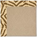 Capel Rugs Creative Concepts Cane Wicker - Couture King Chestnut (756) Octagon 8