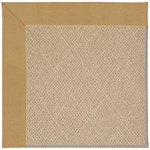 Capel Rugs Creative Concepts Cane Wicker - Canvas Brass (180) Octagon 10' x 10' Area Rug