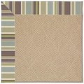 Capel Rugs Creative Concepts Cane Wicker - Brannon Whisper (422) Octagon 10