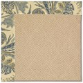 Capel Rugs Creative Concepts Cane Wicker - Cayo Vista Ocean (425) Octagon 10