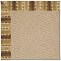 Capel Rugs Creative Concepts Cane Wicker - Java Journey Chestnut (750) Octagon 10