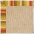 Capel Rugs Creative Concepts Cane Wicker - Kalani Samba (224) Octagon 12