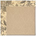 Capel Rugs Creative Concepts Cane Wicker - Cayo Vista Graphic (315) Octagon 12